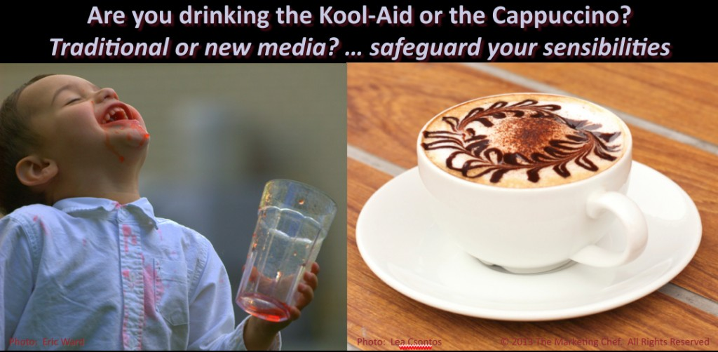 Kool-Aid or Cappuccino?